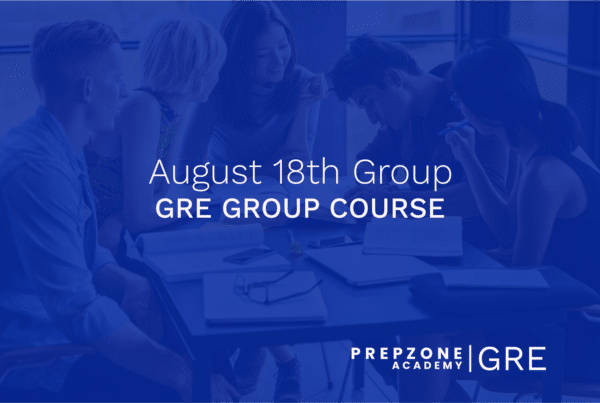 GRE Group Course - August 18th