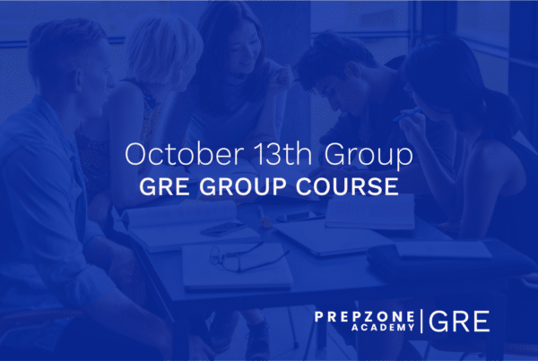 GRE Group Course - October 13th